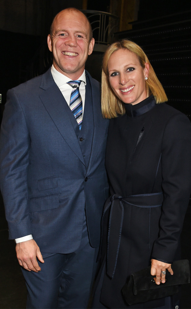 Mike Tindall, Zara Tindall, Zara Phillips